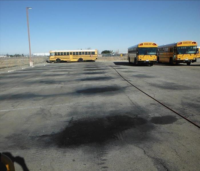 Palmdale School District Oil Spills  Before